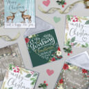 Pack Of Five Luxury Christmas Cards