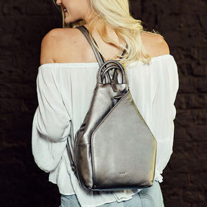 Leather Millie Backpack
