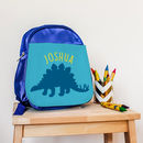 Children's Personalised Dinosaur Mini Rucksack