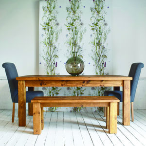 Solid Wood Dining Table - kitchen