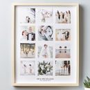 Personalised Wedding Framed Photo Print