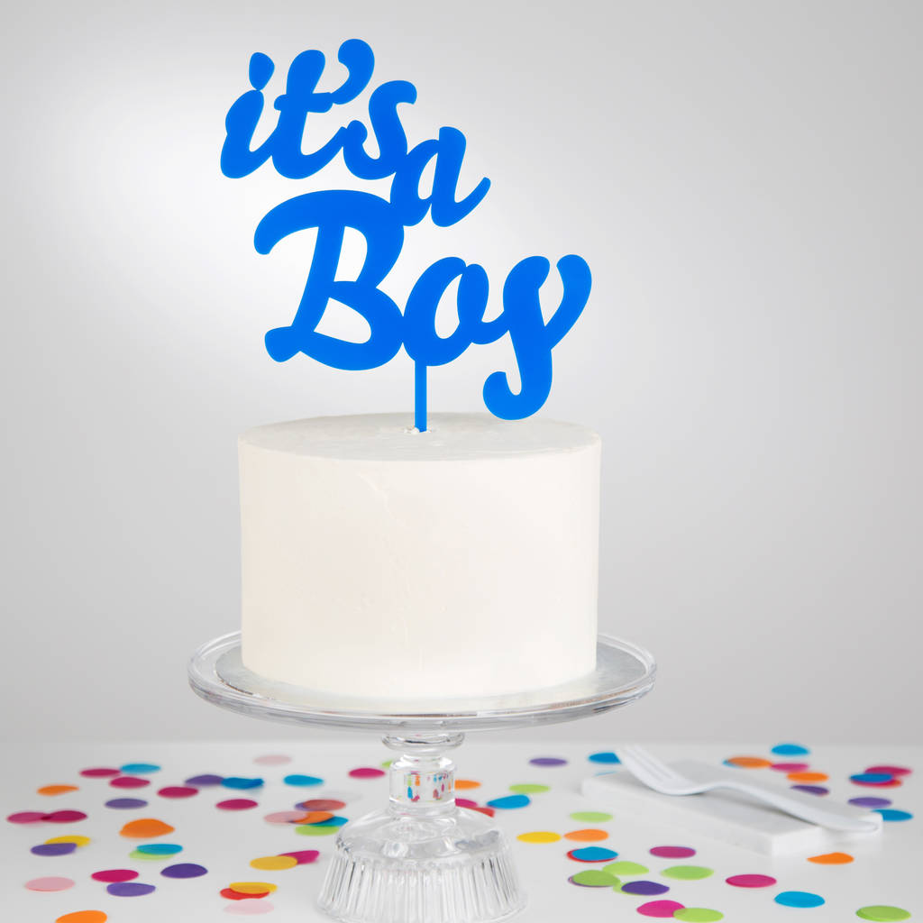 5db45cf44dd27 It's A Girl Or Boy Cake Topper