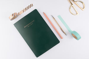 The Ponderlily Travel Journal, Green