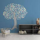 Wiggling Tree Vinyl Wall Art