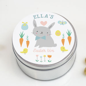 Personalised Easter Tin - easter homeware