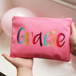 Personalised Unicorn Rainbow Bag For Girls