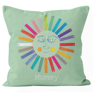 Personalised Sunshine Cushion