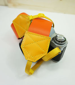Personalisable Webbing Leather Camera Strap
