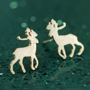 Deer Christmas Stud Earrings - whatsnew
