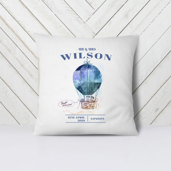 Personalised Wedding Gift Cushion