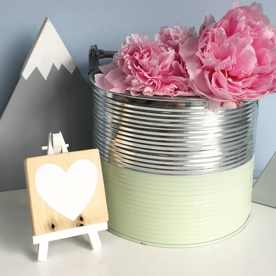 Reclaimed Wood Mini Heart Block By Oh Hello Beau
