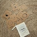 Emotion Flashcards With Organic Cotton Bag