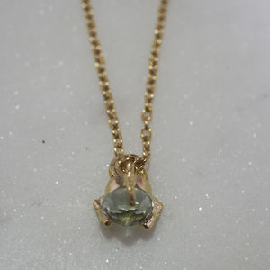 Tiny Twinkle In The Wild Prasiolite Necklace - necklaces & pendants