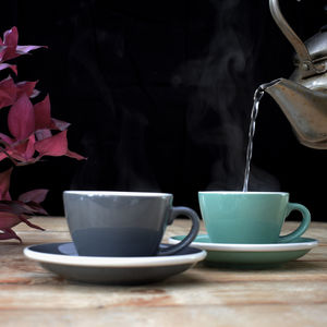 Everyday Coffee Cup And Saucer