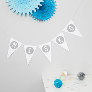 Name Bunting - decoration