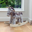 Personalised Rocking Horse With Mouse
