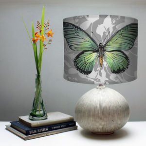 Swallowtail Butterfly Print Lampshade - lighting