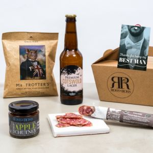 Best Man Gift Box - food hampers