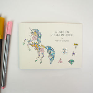 Colouring Book Unicorns - colouring books