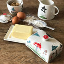 Toadstool Butter Dish
