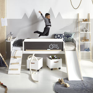 Play, Learn And Sleep Kids Bed - children's room