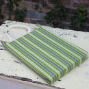 Stripy Wipe Clean Garden Kneeler