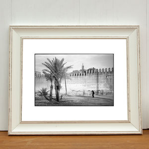 Walls Of The Royal Palace, Fes Art Print