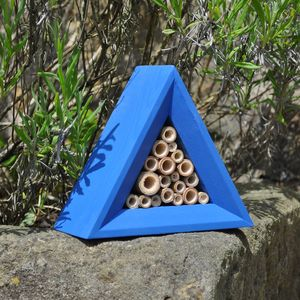 Handcrafted Bee House - birds & wildlife
