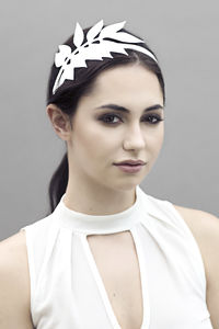 Wysteria Leaf Hair Band - new in fashion