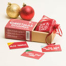Personalised Christmas Challenges Game