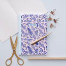 A5 Foliage Print Journal 100 Page Notebook
