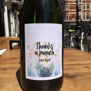 Personalised Thank You Prosecco - wines, beers & spirits