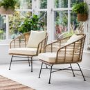 Bamboo Lounge Chair Set Of Two
