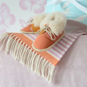 Baby Blanket And Bootee Gift Set - gift sets
