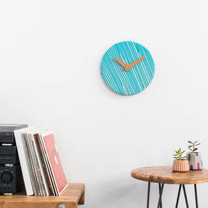 Drip O'clock Concrete Wall Clock - clocks