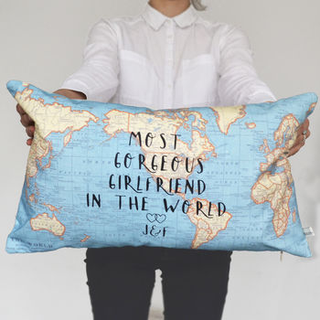 Best In The World Personalised Cushion