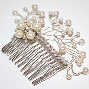 New 'Simply Pearl' Bridal Hair Piece