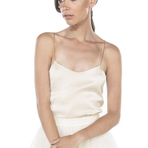 Silk Bridal Camisole - women's fashion
