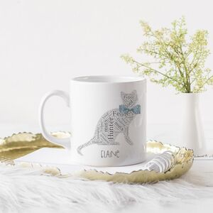 Cat Lover's Personalised Mug