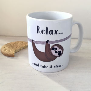 Sloth Mug - gifts for her