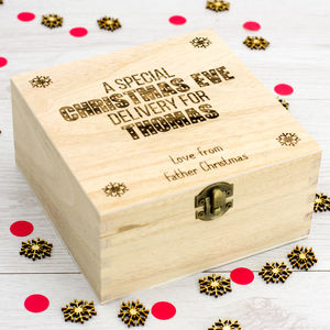Personalised Christmas Eve Box - christmas home accessories