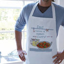 Personalised 'Makes A Mean…' Apron