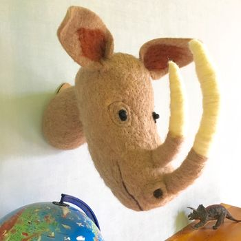 Decorative Felt Animal Head