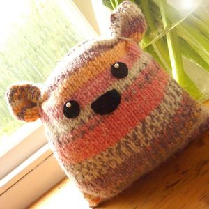 Plump Flump Beginner Knitting Kit *Personalised* - rainy day activities