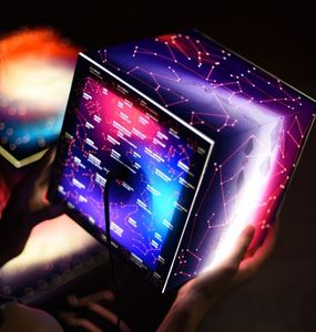 Know Your Stars Mini Light Cube - lighting