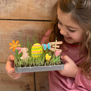 Personalised Make Your Own Easter Garden