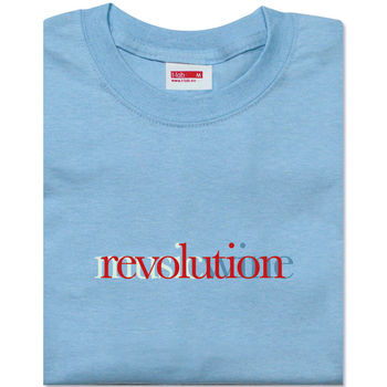 Men's Sky Blue Revolution T Shirt