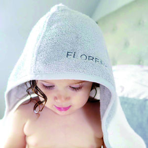 Luxury Personalised Baby And Toddler Bath Towel Gift - gifts for babies