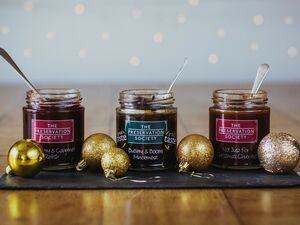 Christmas Trio Of Mincemeat And Relishes