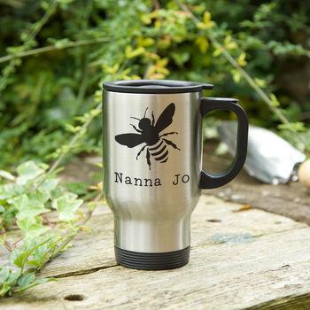 'Bee' Gardener's Mug With Seeds Gift Option